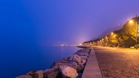 Abend nahe dem Meer Lizenzfreie Stockfotos