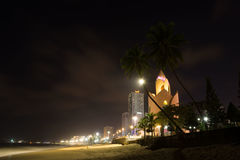 Abend in Nha Trang lizenzfreie stockfotos
