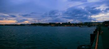 Abend Oslo Lizenzfreie Stockfotografie