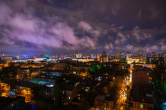Abend Rostov-On-Don, Russland Stockfotos
