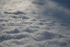 Abend-Schnee Stockfotos