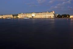 Abend-St Petersburg, Russland Lizenzfreie Stockfotografie