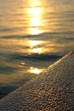 Abend Sun Stockbild