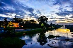 Abend Sun Stockfoto