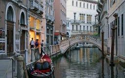 Abend in Venedig Stockbild