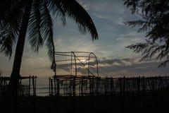 Abend vor Sonnenaufgang zum Sonnenuntergang Stockbilder