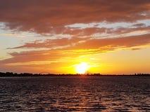 Abendatmosphäre lizenzfreies stockfoto