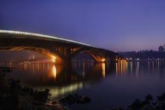 Abendbrücke Lizenzfreies Stockbild