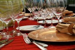 Abendessen bei acht Lizenzfreies Stockfoto