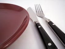 Abendessen, das 1 einstellt Lizenzfreie Stockfotografie
