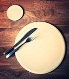 Abendessen für eins Stockfotografie