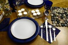 Abendessen für zwei Stockfotografie