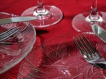 Abendessen für zwei Lizenzfreies Stockbild