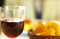 Abendessen-Getränk lizenzfreie stockfotos