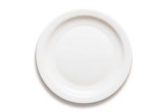 Abendessen-Platte Lizenzfreie Stockbilder
