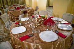 Abendessen table05 Lizenzfreie Stockbilder