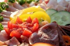Abendessenplatte Lizenzfreies Stockfoto