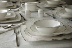 Abendessenservice Lizenzfreie Stockbilder