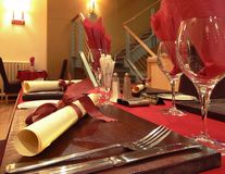 Abendessenzeit Stockbilder