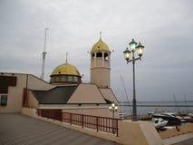 Abendkapelle, Odessa, Ukraine Lizenzfreie Stockfotos
