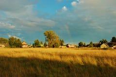 Abendregenbogen Lizenzfreies Stockfoto