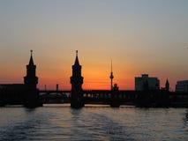 Abendstimmung, Architecture, Berlin stock images