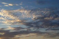 Abendwolken Lizenzfreies Stockbild