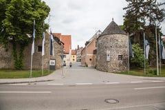 Abensberg van de binnenstad Royalty-vrije Stock Afbeelding