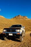 Abenteuer 4x4 im Patagonia Lizenzfreie Stockfotos