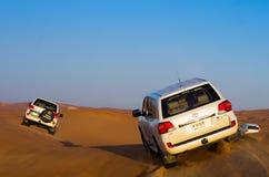 Abenteuer der Wüste 4x4, Dubai Stockfotografie