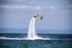 Abenteuer Flyboard Schwarzes Meer Stockfotografie