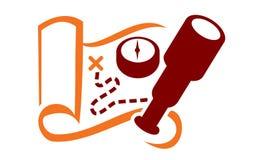 Abenteuer-Logo Stockbild