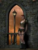 Abenteuer-Mädchen Stockbilder