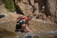Abenteuer-Mädchen Lizenzfreie Stockfotografie