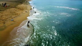 Abenteuer am Strand Lizenzfreie Stockbilder