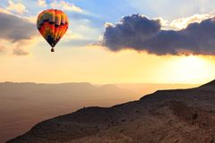 Abenteuerflug Lizenzfreie Stockfotografie