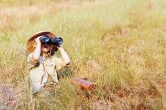 Abenteuerjunge stockfotos