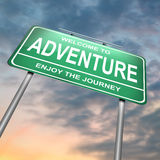 Abenteuerkonzept. Lizenzfreies Stockfoto