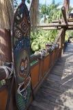 Abenteuerlandverbindungsschild Disney-Welt Lizenzfreie Stockfotografie