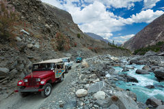 Abenteuernördlicher bereich von Pakistan Stockfotos