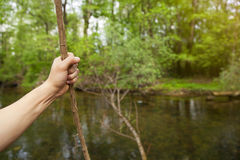 Abenteuerreisen-Natur-Konzept lizenzfreie stockfotos