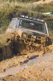 Abenteuerrennen des Überfalls 4X4 Stockbild