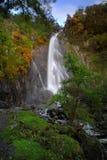 aber abergwyngregyn βουνά πτώσεων carneddau κοντά στο χωριό Ουαλία του βόρειου UK Στοκ Εικόνες