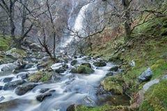 Aber faller norr Wales Royaltyfri Foto