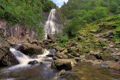 Aber Falls Stock Photography