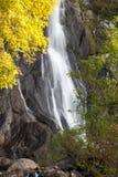 Aber Falls in autumn Stock Image