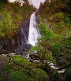 Aber Falls. Autumn at Aber Falls, North Wales Royalty Free Stock Photos