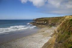 Aber Mawr, Pembrokeshire Royaltyfria Bilder