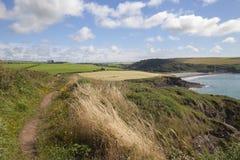 Aber Mawr, Pembrokeshire Arkivfoto