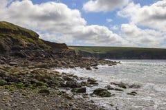 Aber Mawr, Pembrokeshire Arkivfoton
